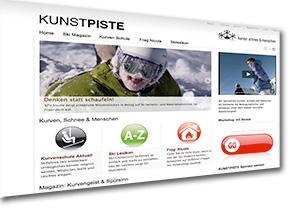 kunstpiste.com by nicola werdenigg