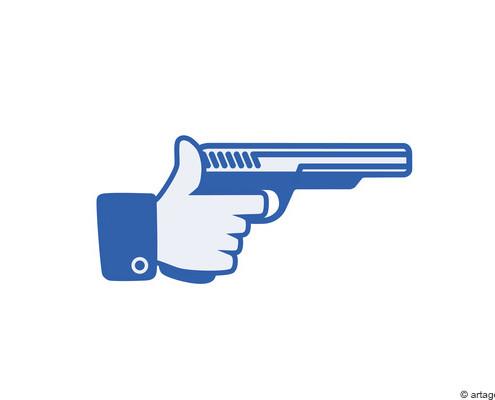 Rechte auf Facebook by die Onlinerin - © artagent
