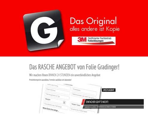 Gradinger Werbegestaltungs GmbH Kunde vo Onlinerin.at