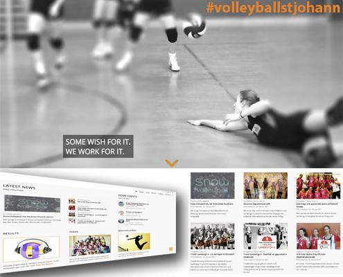 Volleyballstjohann betreut durch die Onlinerin