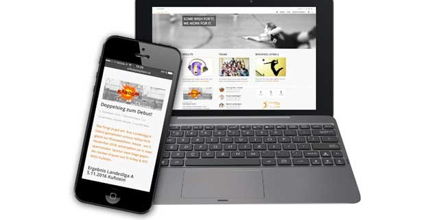 Club Web Die Onlinerin - Webauftritt VC St. Johann